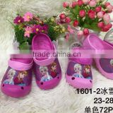 TF-02160620012 Children Garden Shoes Girls Frozen Princess Spiderman Cartoon Summer Clogs Slippers for Kids Baby Sandals