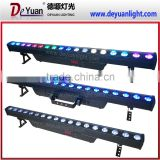Cheap wholesale led light bar 18PCS 10W led wall washer light led decoration light for wedding