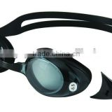 high quality prescription swim goggles,optical plus power lenses,minus and plus prescrition adult goggles