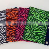 Osini 2016 fashion custom colorful zebra-stripe 3-ring binder pencil bag Eco-friendly non-woven zebra-stripe pencil bag