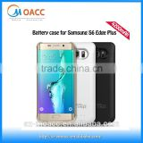 High Quality 4200mah external battery case for samsung s6 edge plus,for samsung galaxy s6 edge plus battery charger case