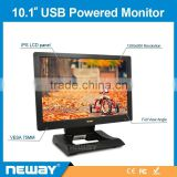 For table pc usb power touchscreen monitor