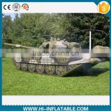 Hot sale inflatable military use replica decoy inflatable tank