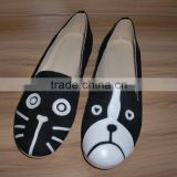 ladies ballerina shoes ladies bellet pump Casual shoes with fancy design
