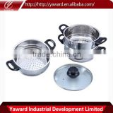 best selling 3-Tier Stainless Steel Steamer commercial food steamer