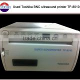 Used Toshiba Ultrasound super Sonoprinter TP-8010 BNC thermal printer