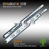 45mm 3-fold Ball Bearing Drawer Slide /Telescopic Drawer Slide/Tool Box Dawer Slides/Soft Close Drawer Slides