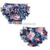 Fashion style baby bloomers high quality toddler girls bloomers new item wholesale baby ruffle bloomers