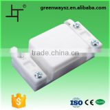 white color 3pin plastic terminal box with best price                                                                                                         Supplier's Choice