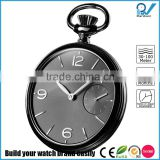 modernly design style watch stainless steel case quartz japan movement custom pocket watch