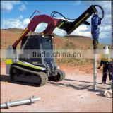 hydraulic earth drill for ground anchors