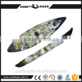 China Rotational mold kayak boat for sale
