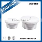 SAIPWELL CO-PG42 Hot Sale Electrical Airtight Device Nylon Waterproof Round Cable Gland with Nut