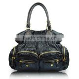 7104 Best Quality,fashion trend nylon tote bags for female,women handbags factory,hot sale