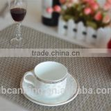 vinyl placemats for restaurants/pvc woven mesh placemats/woven pvc placemats for restaurants