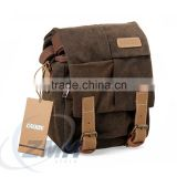 2016 Wholesale Hot Sale Sling Canvas Camera Bag for DSLR camera                                                                         Quality Choice