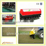 Golf course machine, tractor mounted lawn Aerator, vertidrain