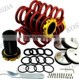 Car Air Suspension Kit Coil Over Shocks Coilover Lowering Coil Spring