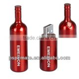 bottle shape Colorful High Quality Economy Custom USB 2.0/3.0 Swivel Flash Drive with your own logo