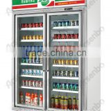 Convenience store refrigerator/Beverage fridge/Upright display cooler/beverage showcase