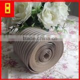 PE strip crepe kraft paper/ crepe paper curling machine/steel wire packing /woven paper