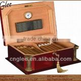 Wooden Cigar Box Attached Key/Cigar Case/Cigar Humidor