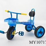 3 wheel baby bicycle Plastic Pushing Baby Tricycles with comfortable seater bicycle