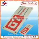 Die-casting zinc alloy label soft enamel electronic shelf label