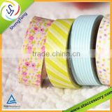 Various design custom yellow color masking tape                                                                         Quality Choice