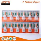 JY 100%Cyanoacrylate strong adhesive best glue for rubber