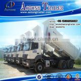 China manufactory 2 Axles tipper semi trailer With High Performance