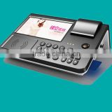 mobile pos machine, wireless wifi 3g Internet,calls,short POS Terminal for E-wallet/E-purse Application, top up, Bus Ticket
