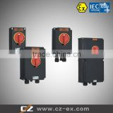 IECEx and ATEX CZ0533 Series Full plastic Explosion-proof Isolator Switch Disconnector