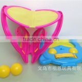 2015 Hot sale wholesale sport toys outdoor games animal frog shape child catcher ball toy TR-BL03