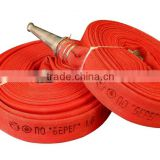 25mm 15 bar high pressure rubber lining canvas lay flat hose