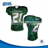 Dri fit make your own american football soccer league jersey