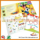 2016 Fashion Children learning activity book                                                                         Quality Choice