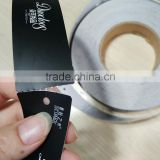 Various OEM design paper model hang tags roll printing for clothes shoes handbags and jewelry