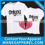 wholesale couple t shirt printing