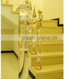 Fashion High Crystal Stair Railing Glass Decorative Pillar                                                                         Quality Choice