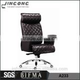 Luxury home office furniture,executive leather office chair,high back leather office chair