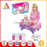 Children play doctor toy for the nursing bed with the doll                                                                         Quality Choice