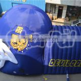 good quality popular inflatable football helmet tunnel, inflatable helmet tunnel for event
