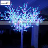 Colorful stickable led light beautiful cherry nail led nail uv lamp with nice design artificial cherry blossom tree