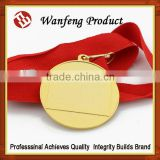 Customized Gold silver bronze Menufacture Supply sports award Souvenir metal engraved medals/medal box