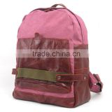New designer backpack soft PU leather Patch backpack for teenagers