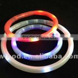 New product soft silicon waterproof led pet collar