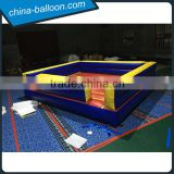 giant inflatable boxing ring,exciting inflatable boxing game,4m inflatable boxing ring for adults