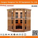 6 person fir sauna room with carbon infrared heater health care products KN-005E
