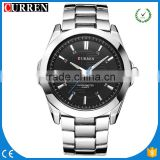 CURREN/CW027 NEW Fashion Men Luxury Top Brand Quartz Men Watch Male Relogio Masculino Army sports Wristwatch